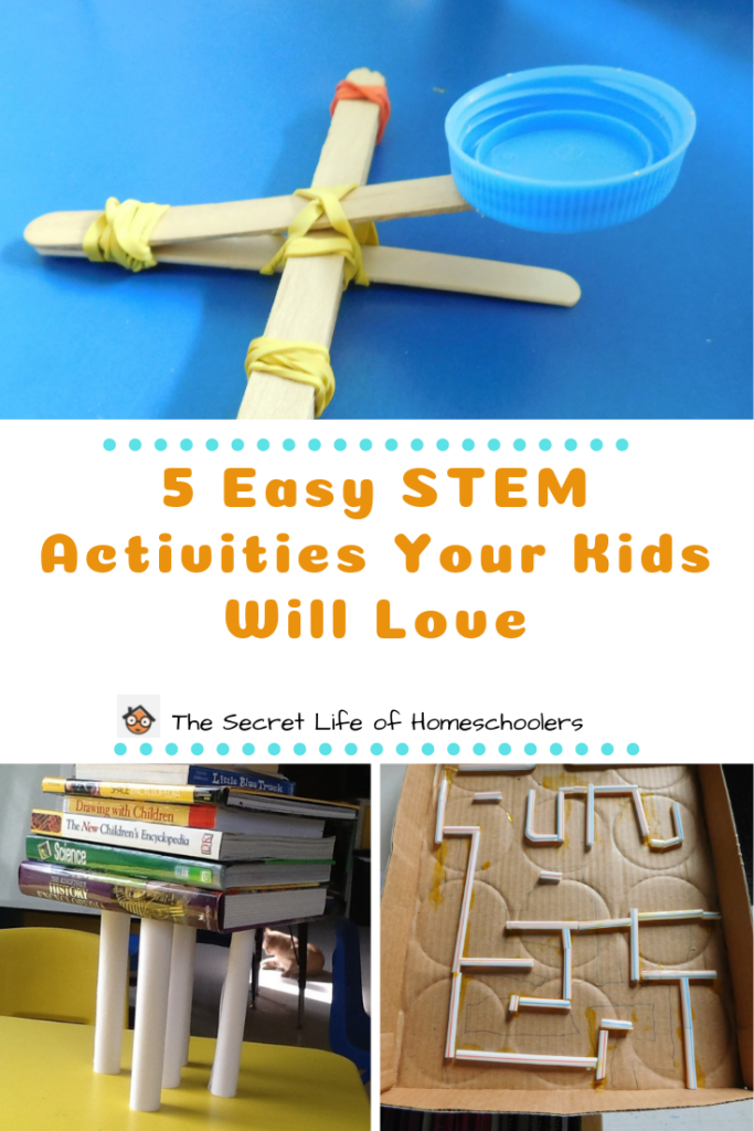 5 Easy Stem Activities Your Kids Will Enjoy