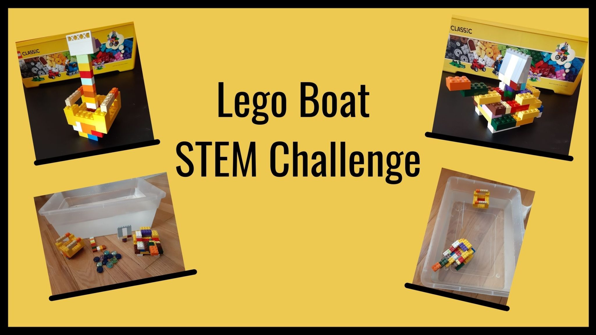 Simple Lego Boat Stem Challenge To Make Learning Fun The Secret Life Of Homeschoolers